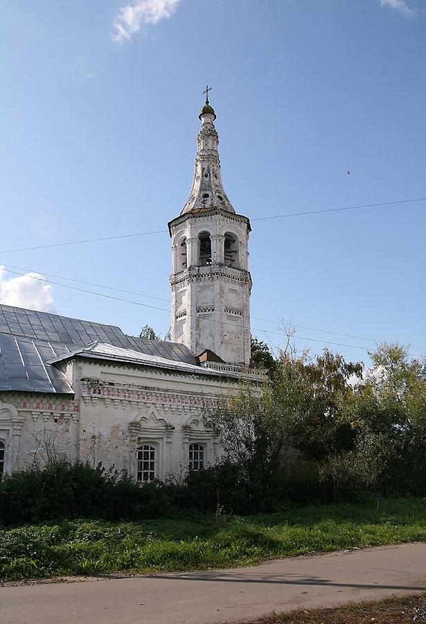 Скорбященскую церковь в Суздале фотографии
