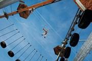 Крупнейший в России веревочный парк открылся на ВДНХ
