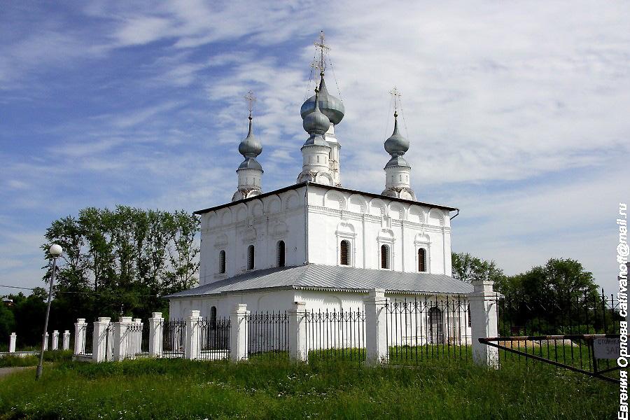 Петропавловская церковь в Суздале фотографии