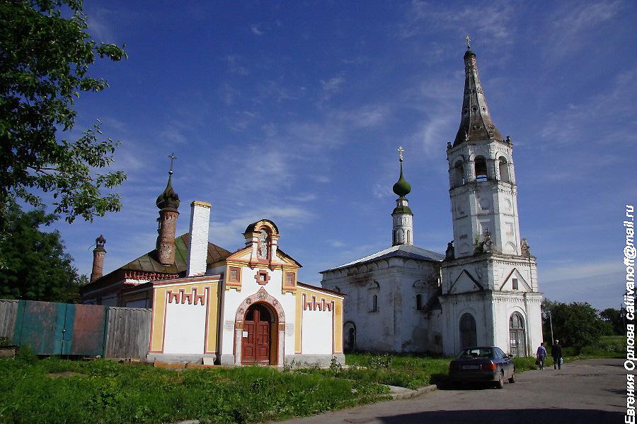 Церковь Святого Николая в Суздале фотографии