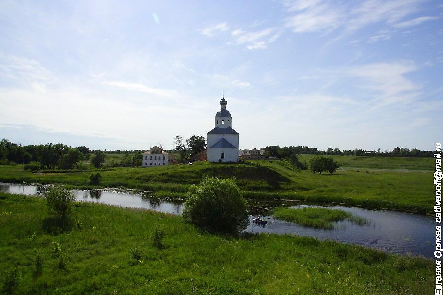 Церковь Ильи Пророка в Суздале фотографии