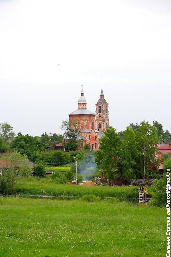 Церковь Бориса и Глеба в Суздале фотографии