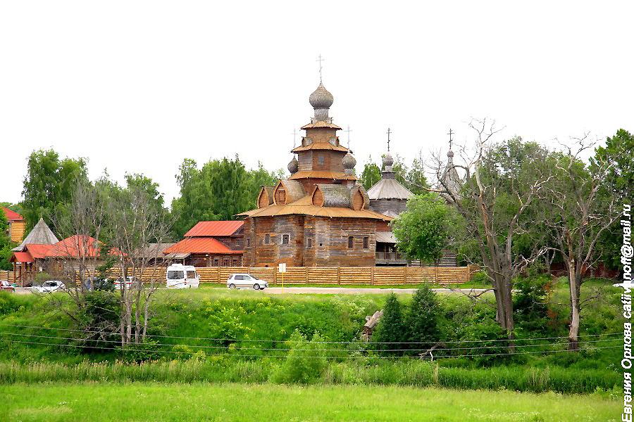 Музей деревянного зодчества и крестьянского быта в Суздале фотографии