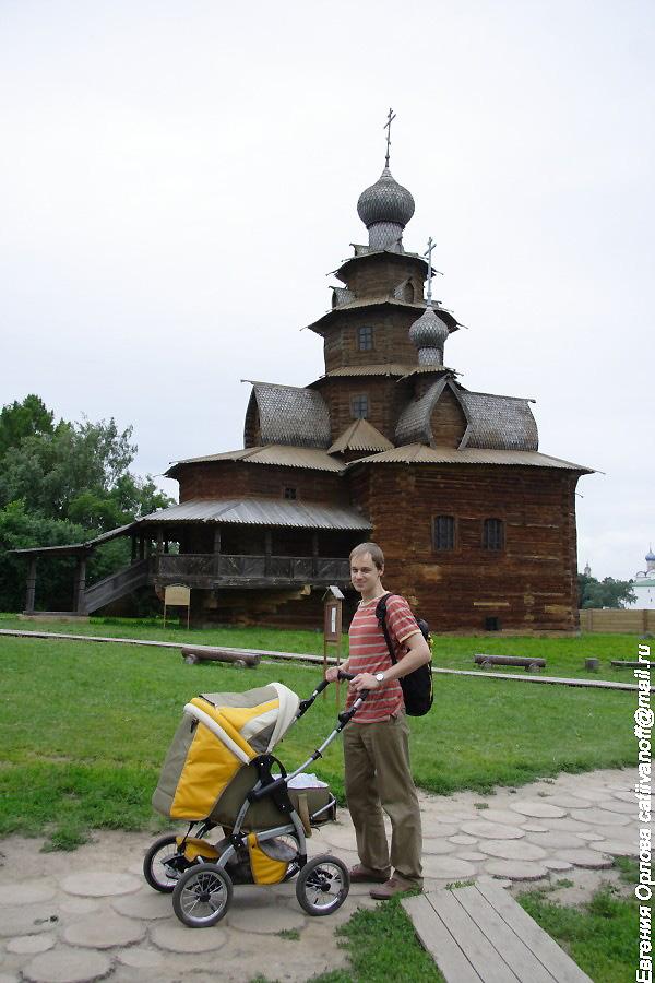 Преображенская церковь в Суздале фотографии