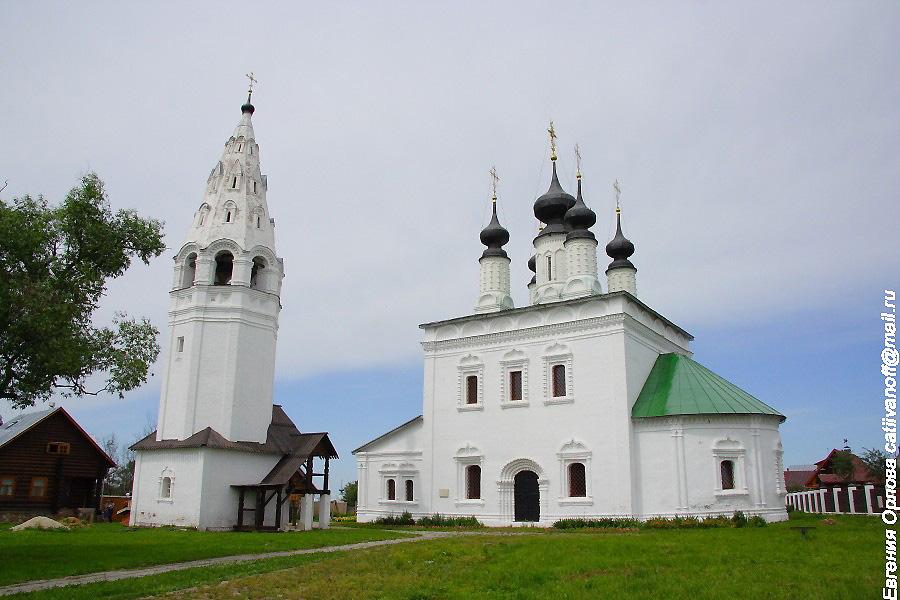 Александровский монастырь в Суздале фотографии