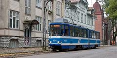 Таллин отметит день рождения трамвая