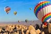 Полеты на воздушном шаре зимой возможны в разных странах мира