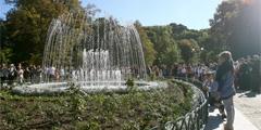В центре Вильнюса после реконструкции открыт старый парк