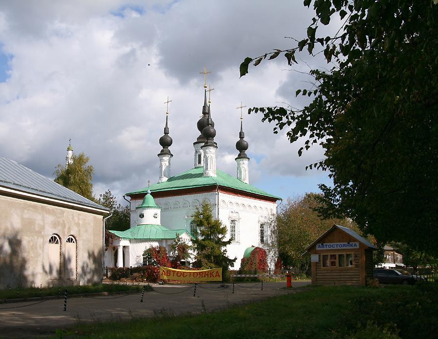 Цареконстантиновская церковь в Суздале фотографии